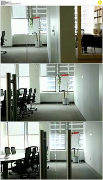 空办公室实拍视频素材