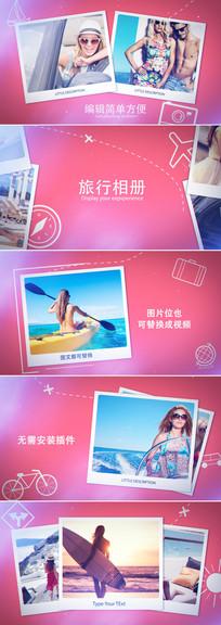 时尚旅游摄影照片相册片头模板