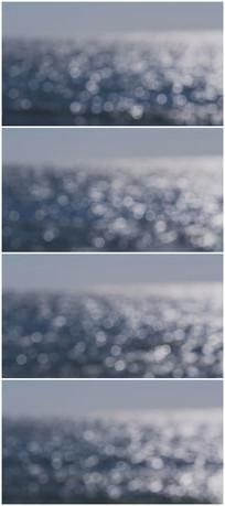 水面波光粼粼视频素材实拍素材
