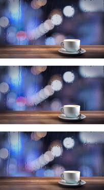 一杯咖啡等待歌曲包装安静到狂风暴雨视频