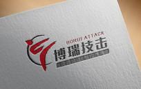 技击logo AI