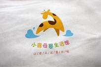 小鹿母婴生活馆logo