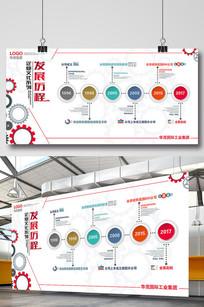 企业发展历程时间轴创意企业文化背景墙