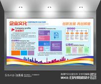企业文化通用背景墙设计