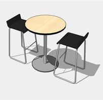 餐厅休闲座椅组合