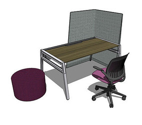 书房学习桌椅