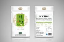 蛙田大米包装设计