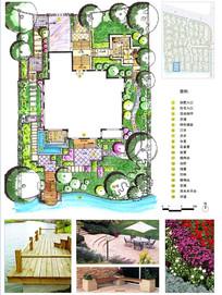 现代花园景观