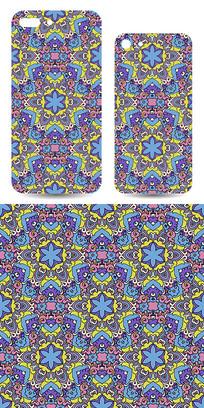 手机壳抽象图案设计