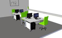 办公室空间模型