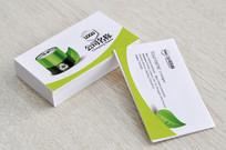电池绿色能源名片