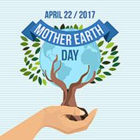 绿色环保地球日的矢量素材 AI