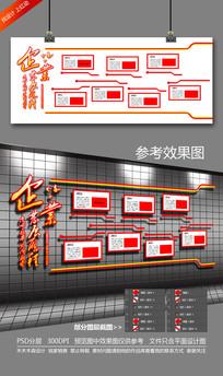 创意企业发展历程形象墙