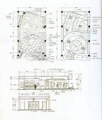 服装展示柜平面图