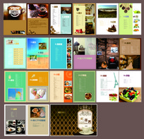 荏苒renran咖啡茶点甜品店菜谱