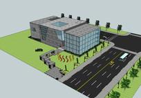 现代城市规划展览馆