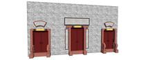 窑洞中式木门吗偶像