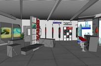 展厅方案 skp