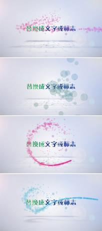 10个粒子动画企业标志演绎ae模板