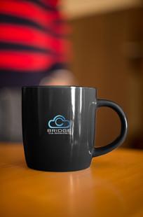蓝色云朵科技创意logo