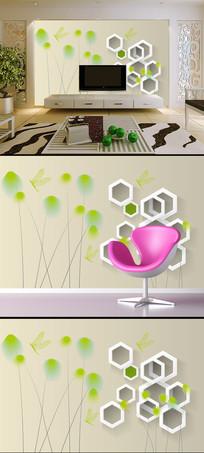 梦幻创意3D电视背景墙