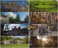 2K超清德国不莱梅城市旅游视频