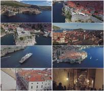 2K超清克罗地亚港口旅游视频