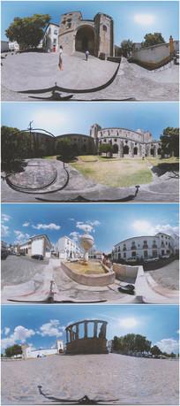 2K超清葡萄牙埃武历史古城360°VR视频
