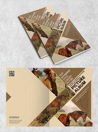 大自然动物画册封面