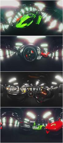 法拉利跑车展示360°VR视频