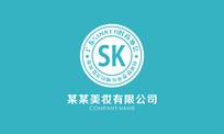 韩式美妆logo
