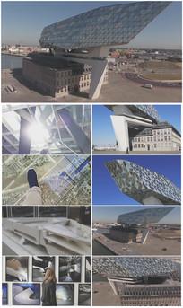 大气的建筑设计视频