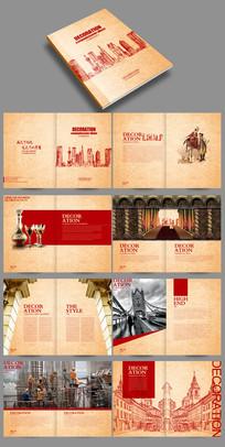 高端大气欧式地产建筑公司画册设计