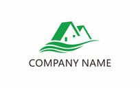 家居绿化logo设计 CDR
