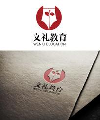 简洁文礼教育logo