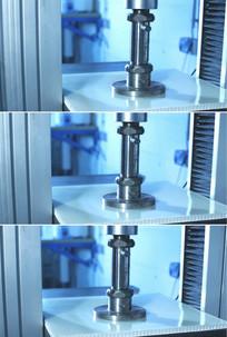 液压机械金属立柱轴承设备视频