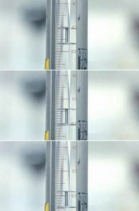 针管打针筒医学实验容器刻度视频