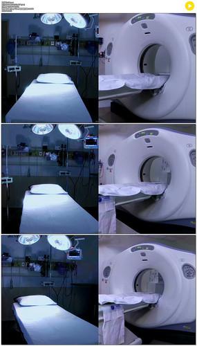医疗设备分屏展示实拍视频素材