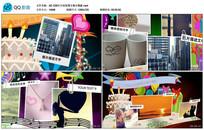 AE CS6生日祝贺图文展示视频模版
