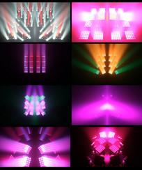 灯光LED视频背景