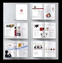 金融会计公司宣传册设计