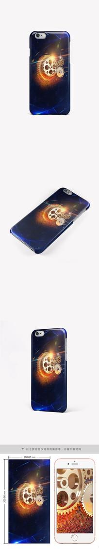 梦幻科技齿轮创意手机壳手机套图案
