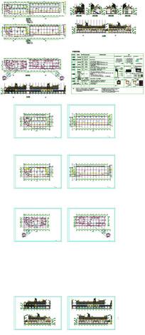 欧式商业街CAD图纸