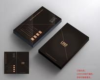 时尚高端黑色商务名片设计