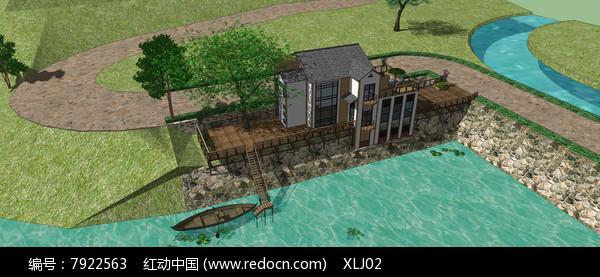 滨水度假别墅图片