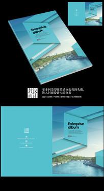 日式唯美风情旅游画册封面设计