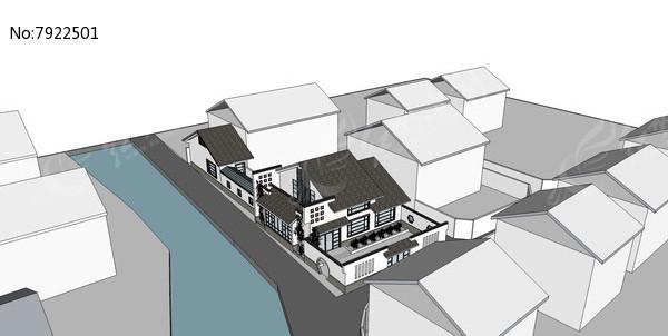 新中式主义别墅图片
