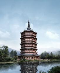 中国传统宝塔