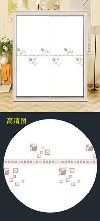 精美现代移门图片背景衣柜门图案 JPG