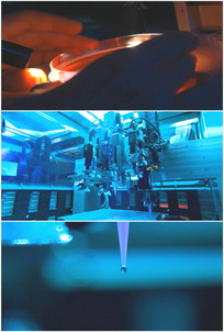 实验室高科技设备装置环境视频